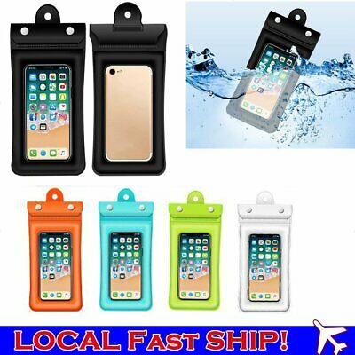 Waterproof Mobile Phone Pouch Floating Bag Case Underwater For iPhone Samsung