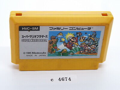 SUPER MARIO BROS NES Japanese Famicom FC Tested! Nintendo Cartridge Used c4674