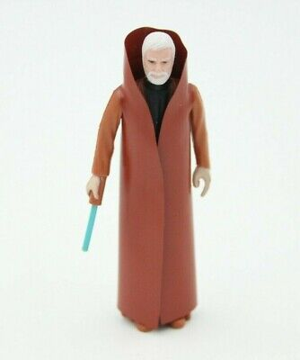 Star Wars Obi Wan Kenobi Action Figure 1978 With Cape & Light Saber