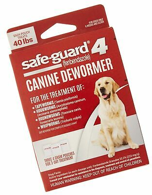 8in1 Safe-Guard Canine Dewormer for Dogs, 3-Day Treatment Large