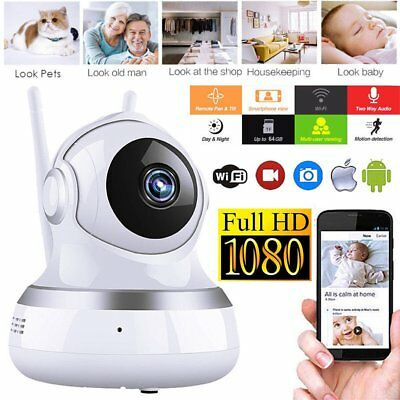 Wireless House 1080-P HD Security Network CCTV IP Camera Night Vision WIFI IR TJ
