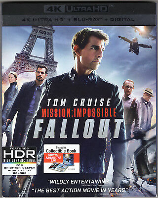'Mission: Impossible - Fallout' US 4K Blu-ray Slipcase *SLIPCASE ONLY*