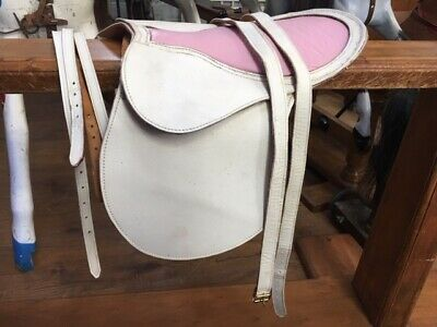Detachable Saddle For Rocking Horse - Includes Stirrup Leathers And Martingale