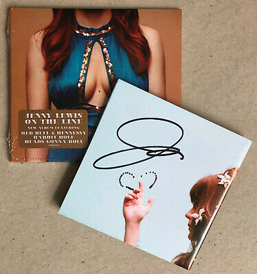 JENNY LEWIS * ON THE LINE * US 11 TRK CD w/ SIGNED INSERT * BN&M! * WASTED YOUTH