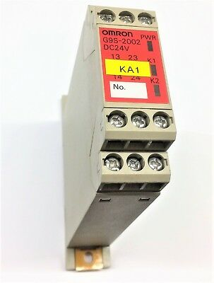 Omron G9S-2002 Safety Relay Unit