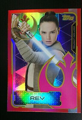 Topps Trading Card - Star Wars The Last Jedi - Lesa - Limited Edition
