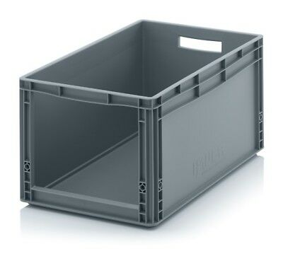 Storage Containers 60x40x32 with Window Stacking Box Eurobox Stackable