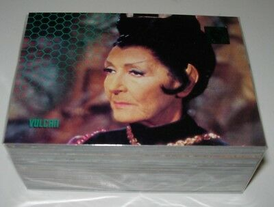 30 Years Of Star Trek Phase Two Trading Cards Full Base Set