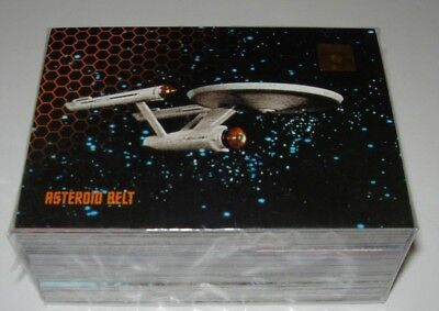 30 Years Of Star Trek Phase Three Trading Cards Full Base Set
