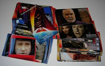 Star Trek Insurrection Widescreen - Full 72 Card Base Set