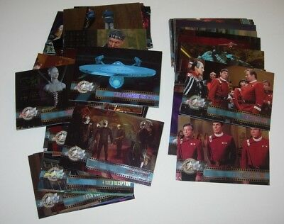 Star Trek Cinema 2000 Trading Cards - Full 82 Card Base Set