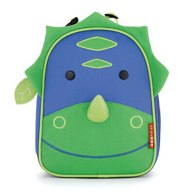 NEW Skip Hop Zoo Lunchies Insulated Lunch Bag - Dinosaur