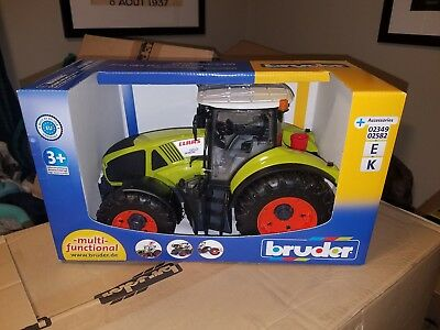 Bruder #03012 Claas Axion 950 - New Factory Sealed #3012