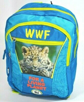 002f09092f ZAINO asilo WWF backpack BOY for a living planet 2019-2020 scuola ADVENTURE  pani