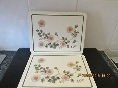 Marks And Spencer Autumn Leaves Placemats X 8