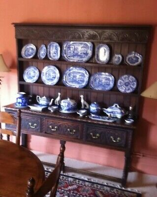 Period Antique Oak Welsh Dresser
