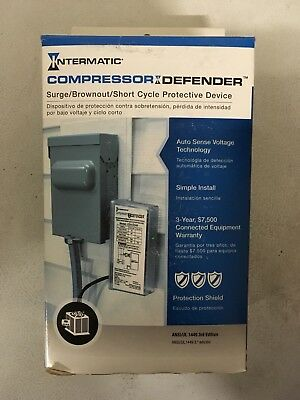 INTERMATIC CD1-024R Compressor Defender Surge/Brownout/Short Cycle Protection