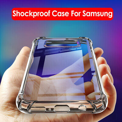 Case For Samsung Galaxy S10 Plus Cover Shockproof Silicone Gel Protective Tough