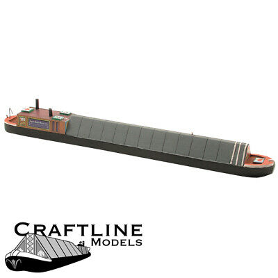 CRAFTLINE 00 KIT MB70  70ft HORSE DRAWN COVERED NARROW BOAT  4mm SCALE