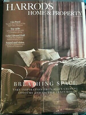 Harrods Home And & Property Magazine Spring Summer 2019 A4 Size