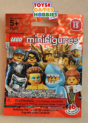 LEGO 71011 Series 15 Minifigure Blind Bag Random SEALED Farmer Shark Queen