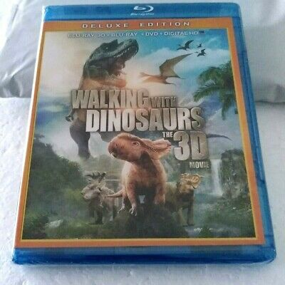 Walking With Dinosaurs - Deluxe Edition 3D (Blu-Ray/DVD, 2013)