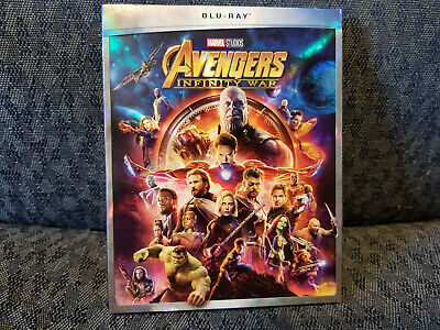Avengers: Infinity War (BLU RAY ,2018) NEW Action Adventure US Free Shipping