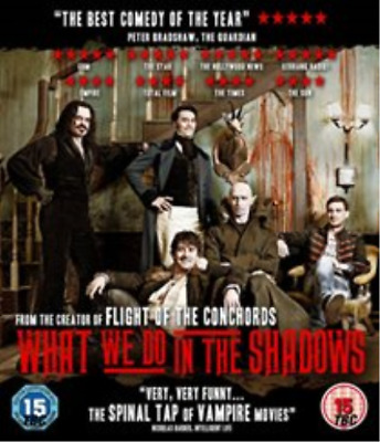 Jonathan Brugh, Karen O'Leary-What We Do in the Shadows (UK IMPORT) Blu-ray NEW