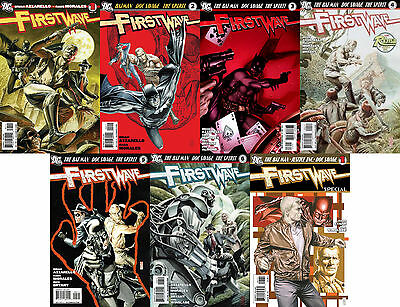 First Wave 1 - 6 (2010) COMPLETE MINI-SERIES   First Wave Special