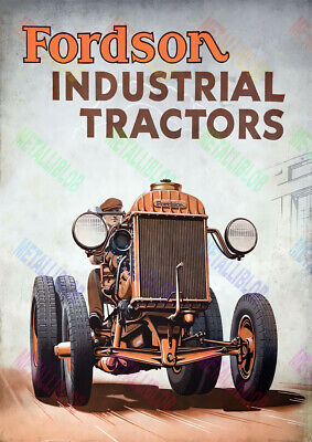 Fordson Industrial Tractor Brochure Poster - A3 - (3 for 2 offer)
