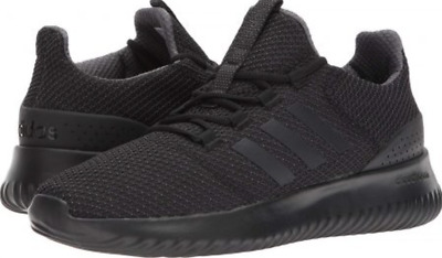 2618445757ae68 Mens Adidas NEO Cloudfoam Ultimate Black Sneaker Athletic Shoe BC0018 Size 8