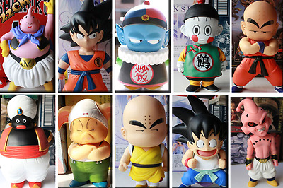 Dragon Ball Super Z Majin Bu Goku Crilin Popo Action Figure Muten Baba Pan Kid