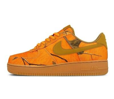 NEW MENS NIKE Air Force 1 07 LV8 3 Realtree Camo Sneakers