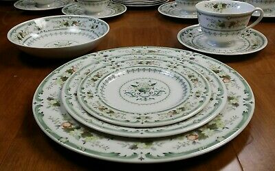ROYAL DOULTON PROVENCAL Place Setting Dinner Plate Salad Bread Cereal Cup Saucer