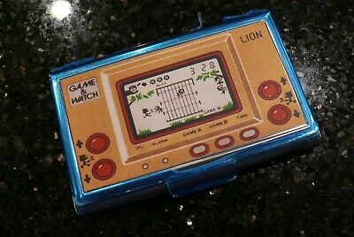 Nintendo LION LCD Handheld Electronic  Video Game & Watch Card Case ✨NEW✨