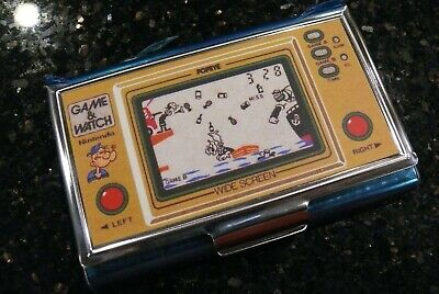 Nintendo POPEYE  LCD Handheld Electronic  Video Game & Watch Card Case ✨NEW✨