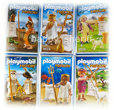 Playmobil Greek Gods 9149 9150 9523 9524 9525 9526 70213 70214 70215 NO Boxes