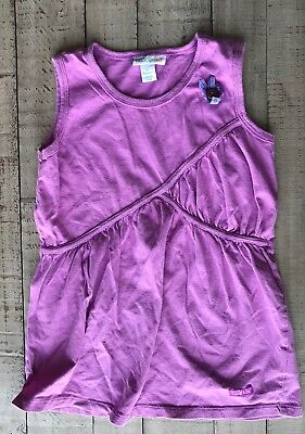 Naartjie Kids Girls Shirt Tank Top 6 Yrs L Purple Cotton