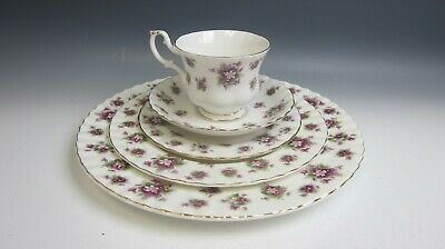 Royal Albert China SWEET VIOLETS 5pc Place Setting(s) Multi Avail MIXED