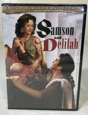 Cecil B. DeMille's SAMSON & DELILAH (1949) Hedy Lamarr Victor Mature NEW SEALED