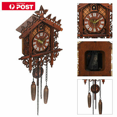 Europea Cuckoo Clock House wall clock large modern art vintage home decor New