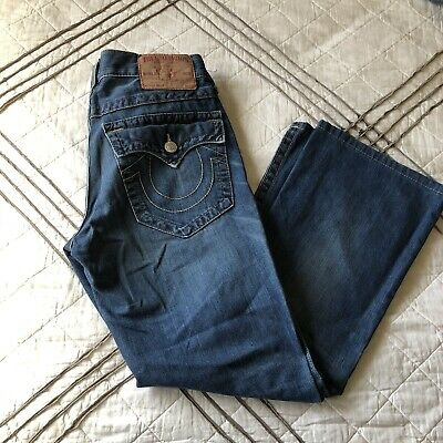 5c0b79603 100% AUTHENTIC CLASSIC TRUE RELIGION BILLY DENIM JEANS in SIZE 32 x ...