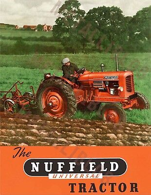 Nuffield Universal Tractor - Poster (A3) - (3 for 2 offer)