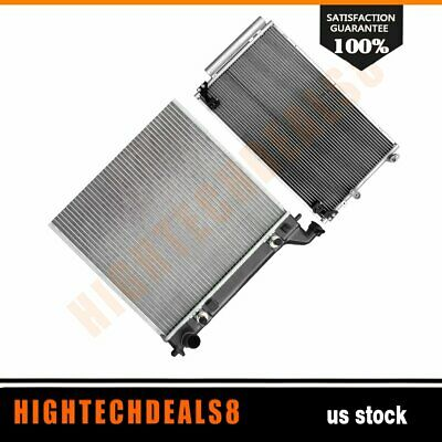 AC Condenser/&Radiator Assembly 4953 2368 for 2003-2004 GMC Sierra 1500 4.3L