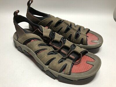 eb106a808399 Keen - Brown Leather Waterproof Hiking Trail Sport Sandals - Men s 10.5