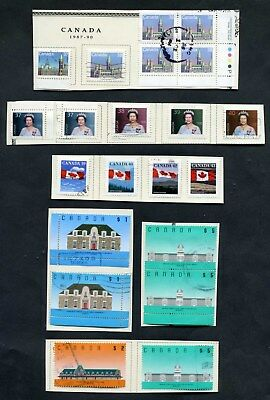 Lot of 63 Early (1987-1991) Canada Collection of Stamps