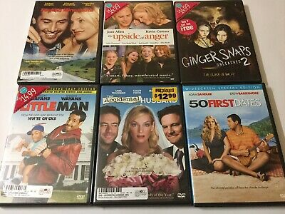 Romance & Action Movie Bundle Dvds. Comes W/ 6 Movies. Kevin Costner. And More.