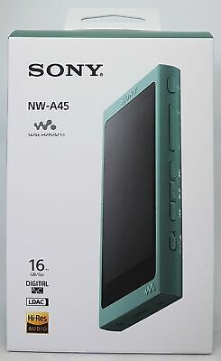 Sony Nw-A45 High Resolution Walkman Mp3 Lecteur, 16 Gb, Vert - Neuf & Ovp
