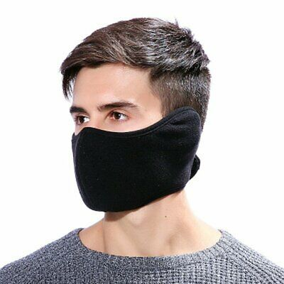 Unisex Breathable Soft Warm Full Cover Mouth Mask Winter Cyling Accessories SW