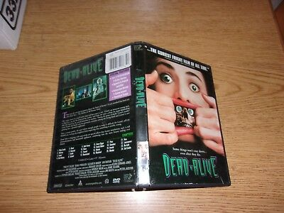 Dead Alive (DVD, 1998, Unrated Version) AUTHENTIC RARE OOP!!